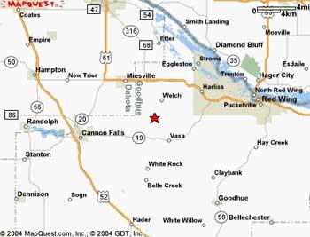 fredrickson elk farm Welch Mn Map Welch Mn Map #2 welch mn map